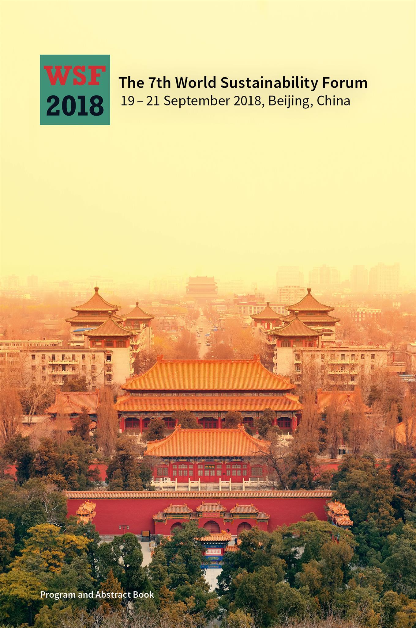 Sciforum Beijing Special Deal 4 Days Dept 11 Aug 18 17 September 2018